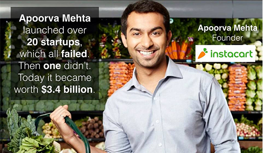 How 20+ Failures Led to a Billion Dollar Success: The Story Of Instacart